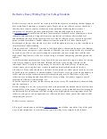 Descriptive essay writing examples for college students