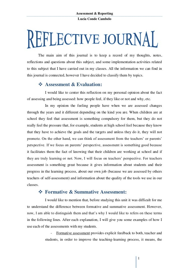 reflection essays sample reflective essay questions self - An Example Of A Reflective Essay
