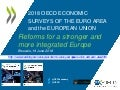 Reforms for a stronger and more integrated Europe OECD Economic Surveys EU euro area June 2018