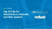 Top 10 Tips for Advertising in Australia & New Zealand