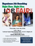 Regional job fair flyer, june 30, 2011