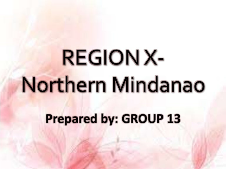Region x northern mindanao