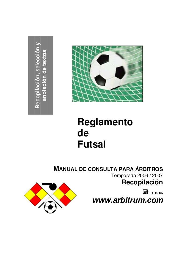 Image Result For Futbol Sala Reglamento