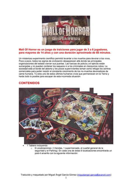 Reglas mall of_horror