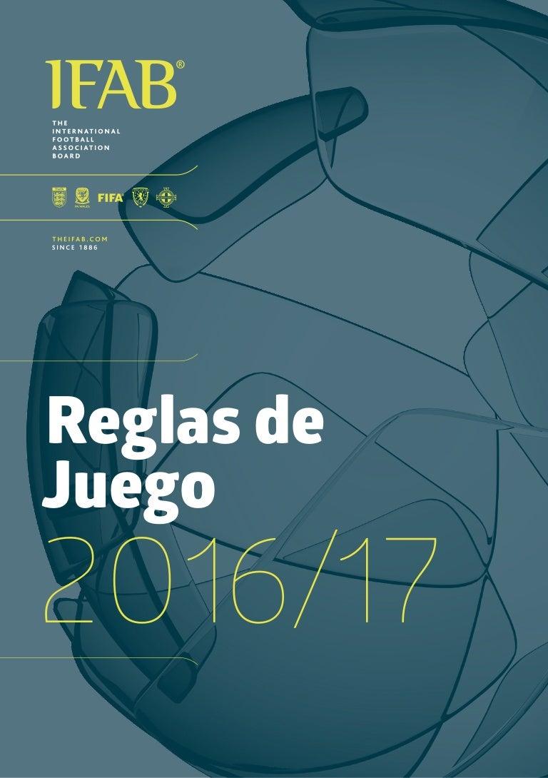 Reglamento futbol 2016