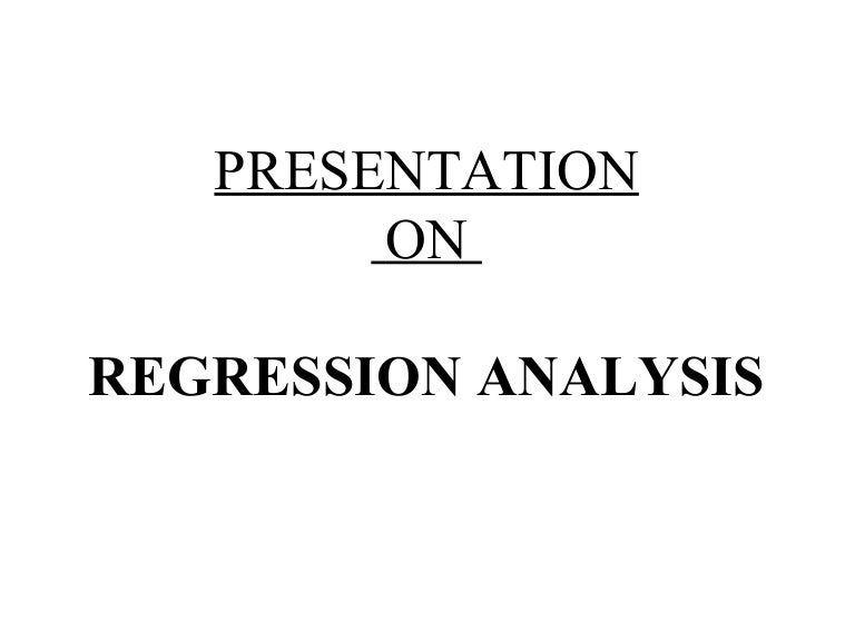 regression case essay 3 section 1: introduction 11 overview a multiple linear regression analysis is carried out to predict the values of a dependent variable, y, given a set of p explanatory variables (x1,x2,,xp.