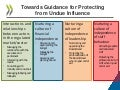 Regulators: Towards Guidance for Protecting from Undue Influence