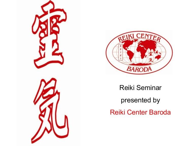 Reiki Presentation By Haren Patel