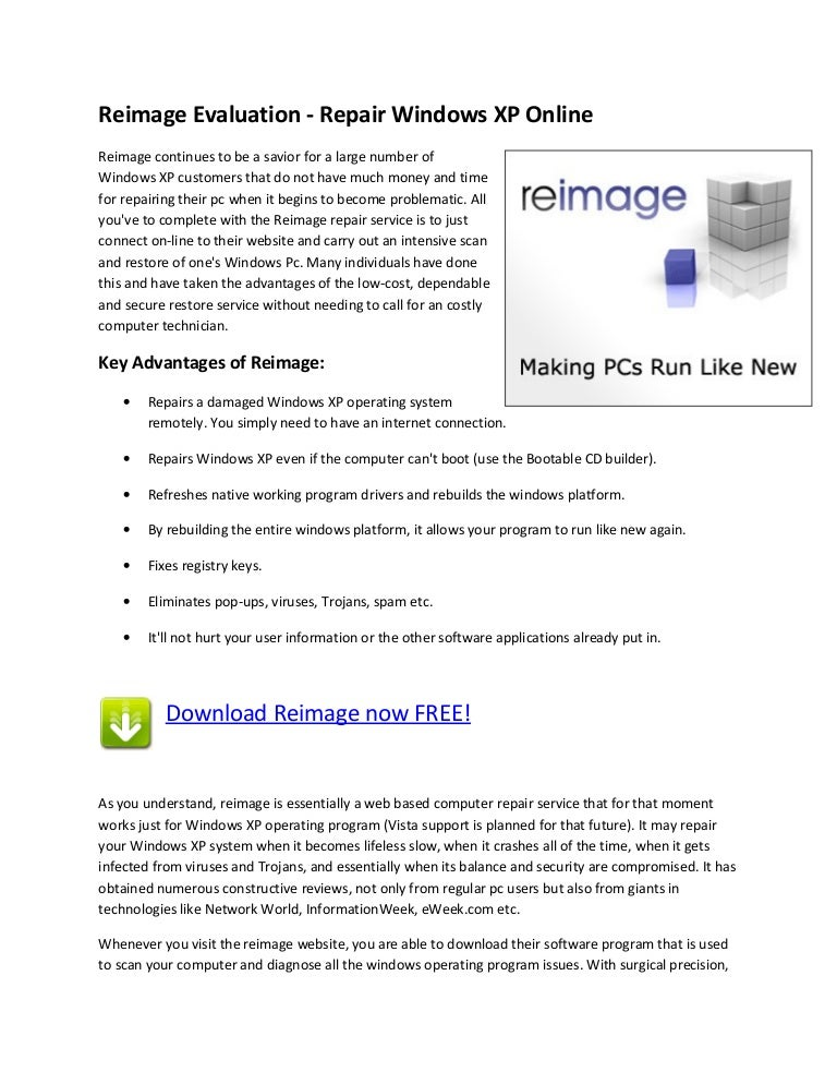 reimage customer reviews