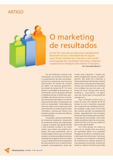 Revista marketing direto   dezembro 09