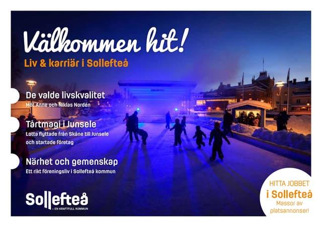 Välkommen till Sollefteå!