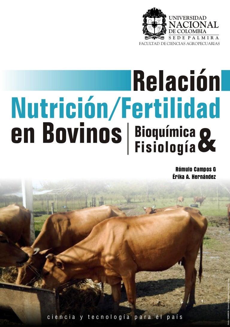 Relacion nutricion fertilidad en bovinos bb0543ef8be