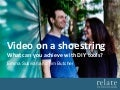 Video on a shoestring – what can you achieve with DIY tools? | Right between the eyes: video content that delivers for your charity | Seminar | 26 Jan 2017