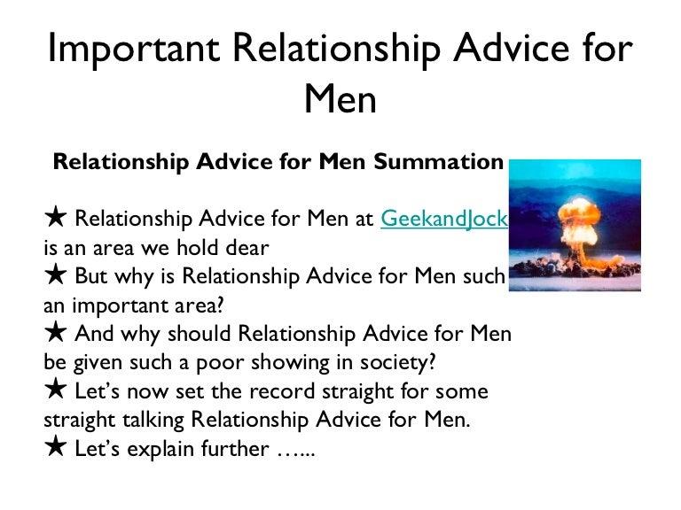 sex advice for men from women