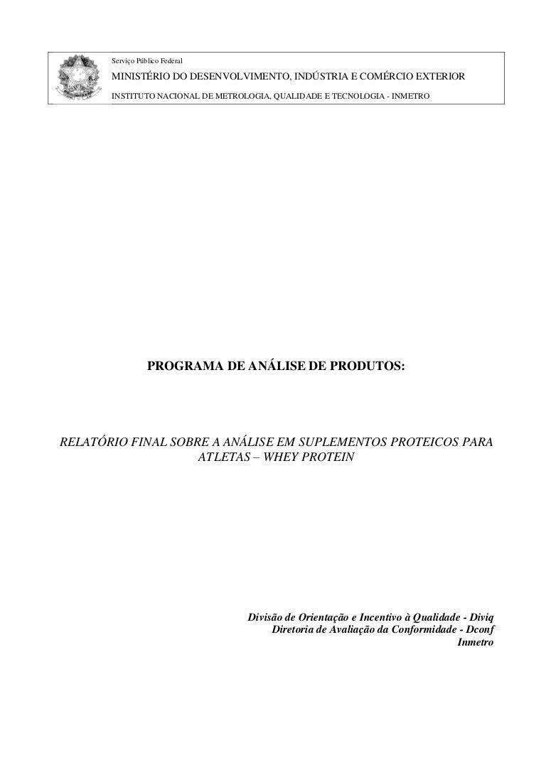 99be98532 Marcas de Whey Protein reprovadas pelo Inmetro