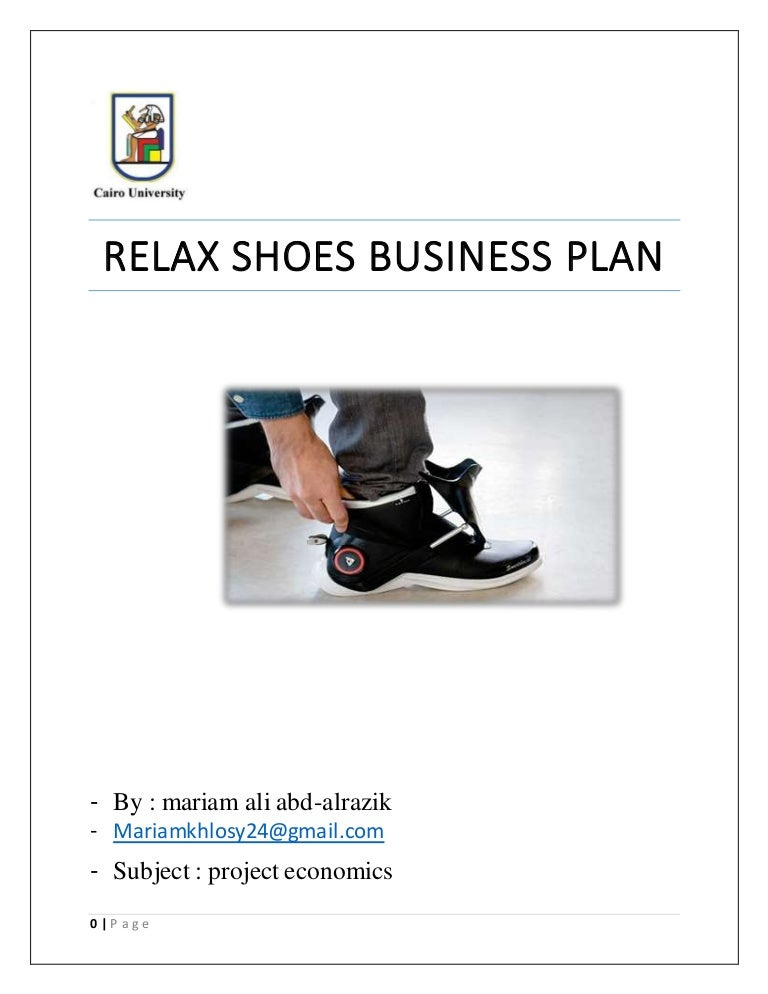 Purchase business plan shoe store
