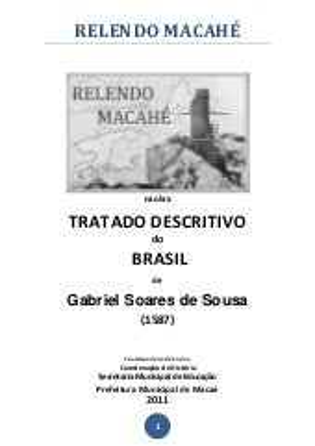 RELENDO MACAHÉ - TRATADO DESCRITIVO DO BRASIL