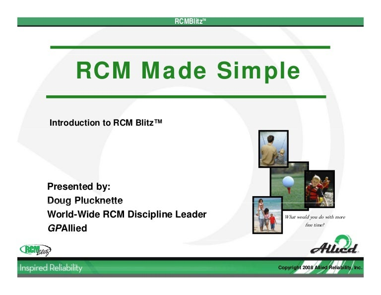 Reliability Centered Maintenance (RCM): Implementation Made Simple (Mechanical Engineering)