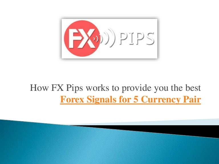 Reliable forex signals