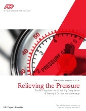 Relieving the pressure hr outsourcing
