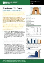 Religare  budget special report