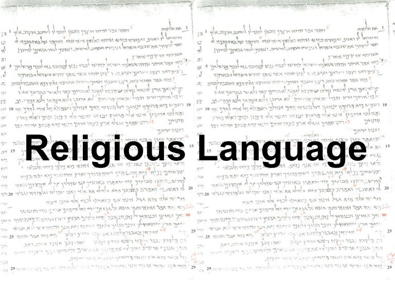 evaluate the claim that religious language is Figure 31 graffiti's mix of colourful drawings, words, and symbols is a vibrant expression of culture—or, depending on one's viewpoint, a disturbing expression of the creator's lack of respect for a community's shared space.