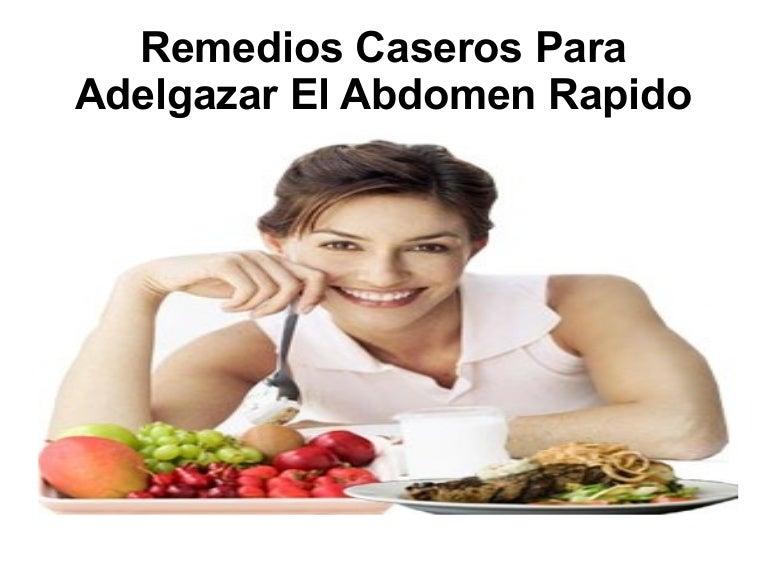 remedios caseros para adelgazar barriga rápido