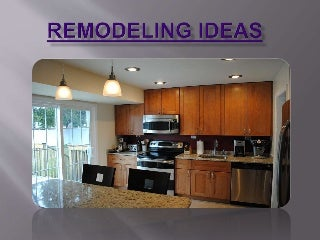Remodeling ideas of kitchen and bath