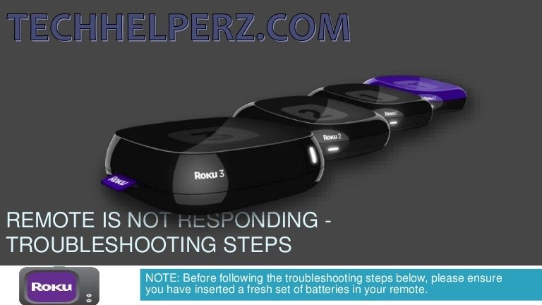 How to Fix Not responding Roku Remote with the help of troubleshooti…