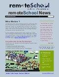 remoteSchool CrowdFunding Newsletter