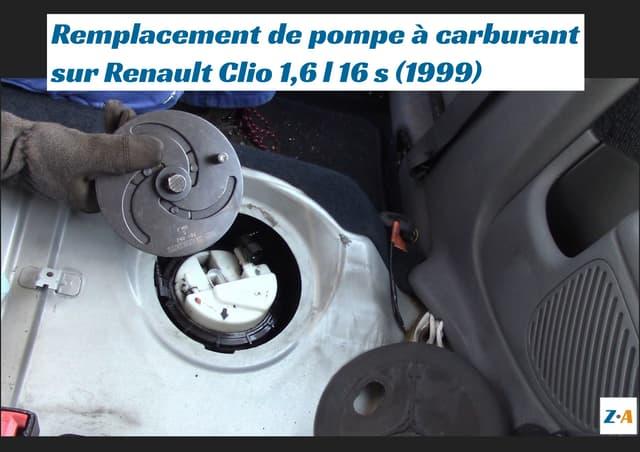 Remplacement de pompe à carburant sur Renault Clio 1,6 l 16 s (1999)