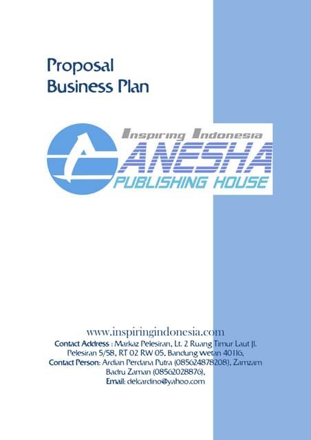 Rencana Bisnis Gph 2008