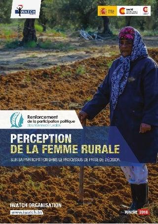 Renforcement de la femme rurale sur la participation dans le processus de prise de décision
