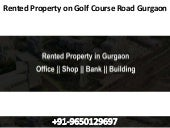 Rented property on golf course road gurgaon-9650129697