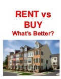 Renting vs Buying Your Home in Maryland