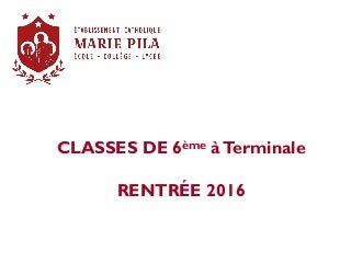 Rentree 2016 infos-parents