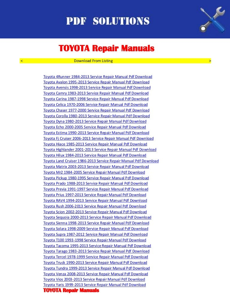Toyota hilux user manual ebook toyota hilux 05 repair manual download page 1 2 array fj80 owners manual ebook rh fj80 owners manual ebook fullybelly de fandeluxe Choice Image