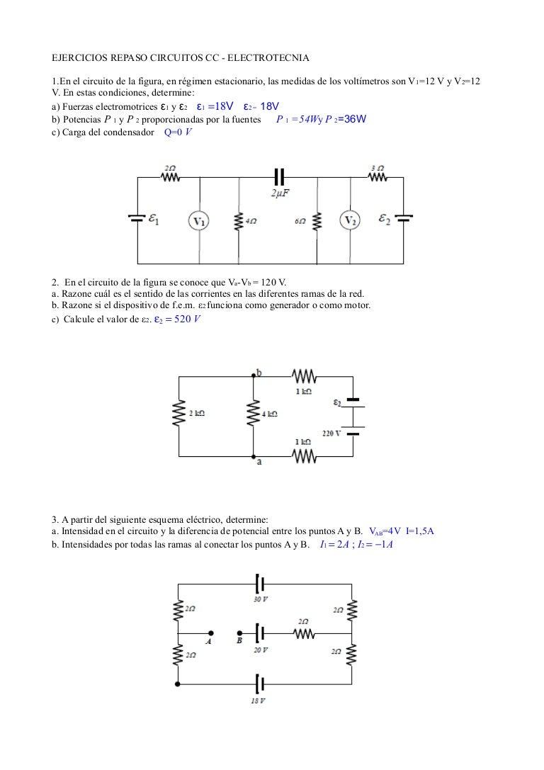 Circuito Y : Repaso circuitos cc