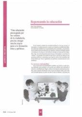 """""""Repensando la educacion""""   - Jurjo Torres Santomé (2002)"""