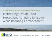 Repi and optimizing off site land protection