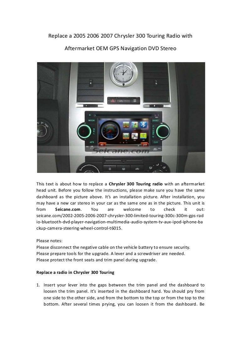 Chrysler 300 Seat Wiring Diagram Electrical Diagrams 2012 200 07 Trusted 2007 Radio