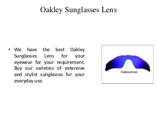 Oakley Replacement Lens