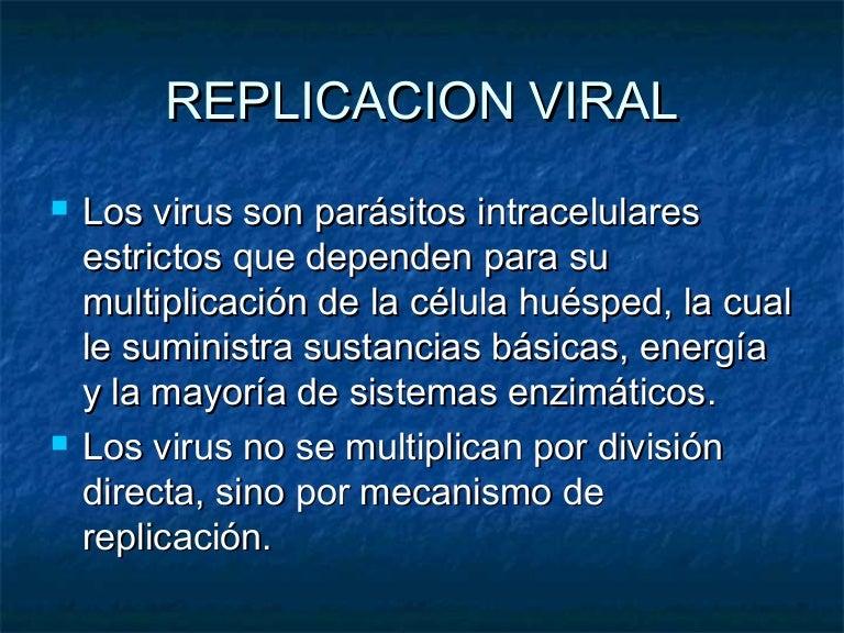porque los virus son parásitos intracelulares estrictos
