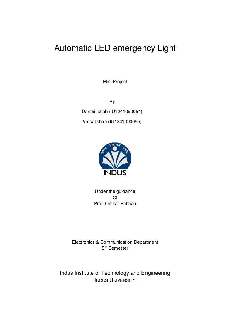 Automatic Room Light Circuit Schematic Diagram