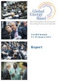 Global Energy Basel Summit 2013 Report