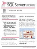 Microsoft SQL Server 2008 R2 - Reporting Services Datasheet