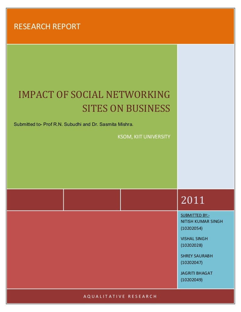 impact of social network sites on 1 introduction social networking sites (snss) have experienced a rapid expansion in popularity since their inception in the early 2000s facebook is the second most visited website in the world after google (alexa, 2011) and has an estimated 800 million active users (facebook, 2011.