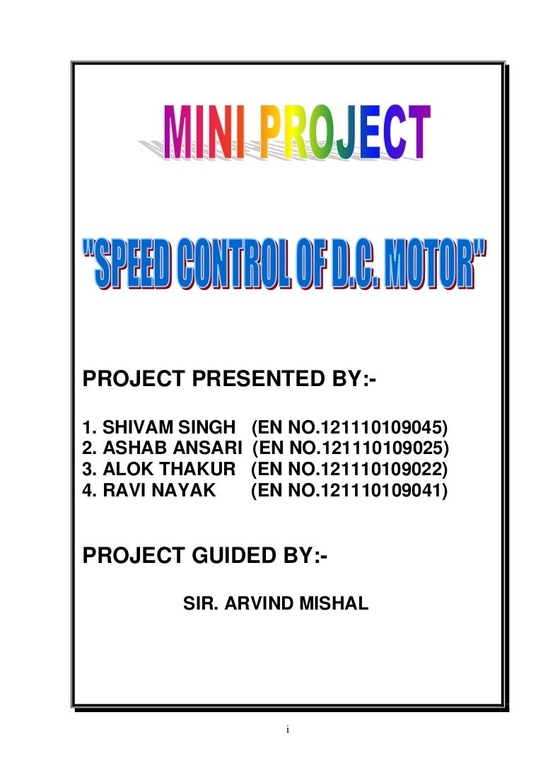 Report On Speed Control Of Dc Motor Using Pwm Method Block Diagram L293d Driver At89c52 And Whole Circuit