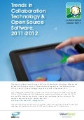 Trends in Collaboration Technology and Open Source Software 2011-2012