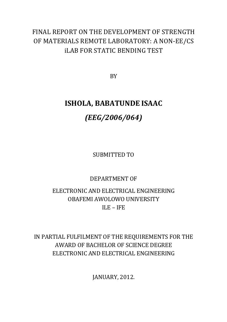 Report On The Strength Of Materials I Lab Power Supply Circuit 5v And 33 V Output Powersupplycircuit